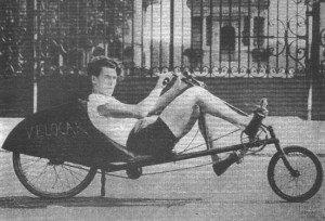 Le vélocar de Charles MOCHET conçu pour la compétition