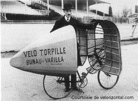 Vélo Torpille BUNAU-VARILLA