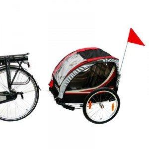 vélo avec carriole enfant 03