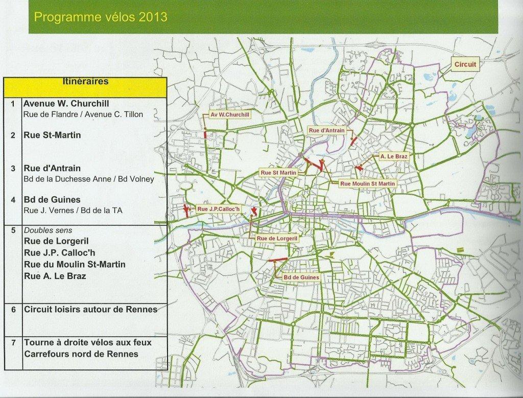 Pistes cyclables à Rennes  plan-des-nouvelles-pistes-cyclables-pour-2013-a-rennes-01-1024x779