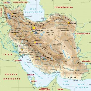 carte de l'Iran 01