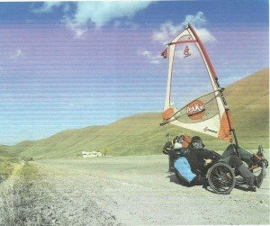 Grande montée avant Erevan sur 7 kms à 9%