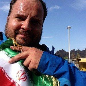 Laurent à la frontière iranienne Merci les douaniers
