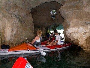 Remontée vers le barrage de Ste Croix en 2009 - 03