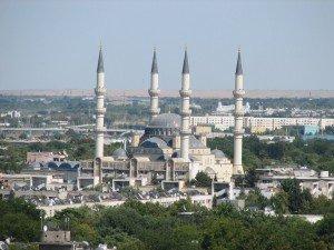 Achgabat La Mosquée  Turque 02 Turkménistan