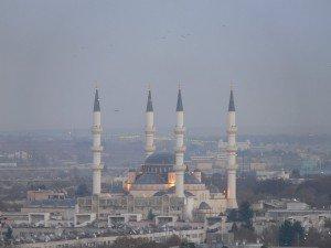 Achgabat La Mosquée  Turque 03 Turkménistan