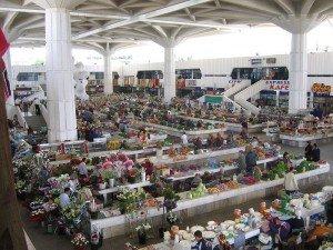 Achgabat le bazar Turkménistan
