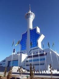 Achgabat tour de la télévision 02 Turkménistan