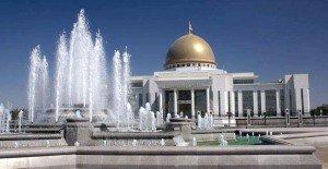 Achgabath la place du président Turkménistan 001