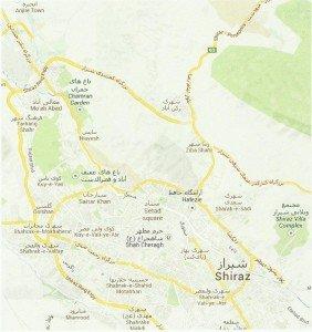 carte de Chiraz 01