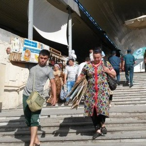 Tashkent - marché Chorsu