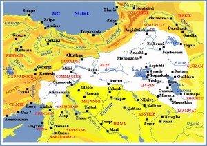 ancien royaume Mèdes de l'Ourartou sous Sardouri II