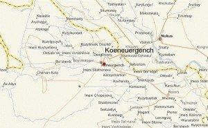 carte de Kounya ourguentch
