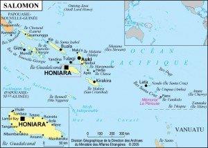 carte des îles Salomon 02
