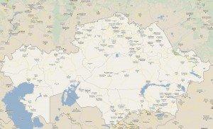 carte du Kazakhstan  n°07
