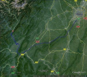 Chengdu - Ya'an et les montagnes 03 jusqu'à Dengchigou