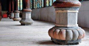 église de Dengchigou intérieur 03 détail