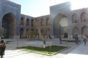 Madrasah  Ulug-bek cour intérieure