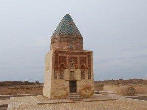 Mausolé d'Arslan II Timur à Kounia Ouerguentch au Turkménistan