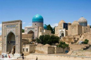 Mausolée de Kasisade Rumi  Nécropole de de Shahr-I-Zindah (Shah Sinda)
