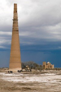 Minaret de Gutluk Timur à Kouinia Ouerguentch au Turkménistan 03
