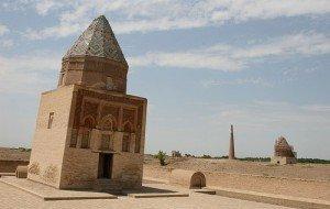 Minaret de Gutluk Timur à Kouinia Ouerguentch au Turkménistan 07