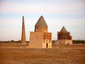 Minaret de Gutluk Timur à Kouinia Ouerguentch au Turkménistan 08