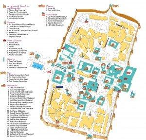 plan de Itchan-Kala  Khiva 01