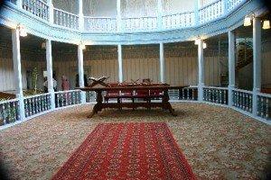 Tachkent complexe Hasti Imam 05 intérieur de la bibliothèque de la mosquée Tellia Cheikh