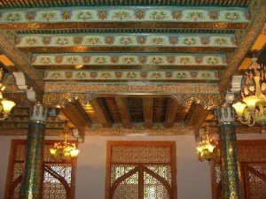 Tachkent complexe Hasti Imam 07 intérieur de la bibliothèque de la mosquée Tellia Cheikh