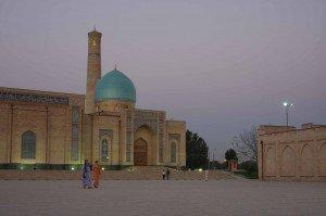 Tachkent complexe Hasti Isman Mosquée Nomosgokh