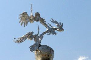 Tachkent place de l'indépendance 07  détail