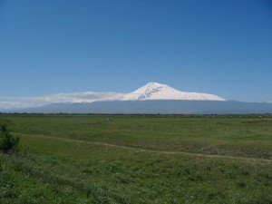 Y Arménie avec le mont Ararat