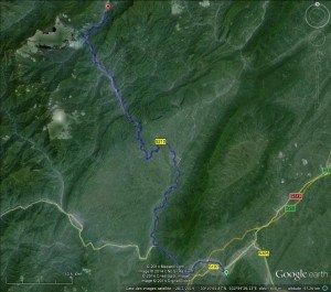 Ya'an et les montagnes 02 jusqu'à Dengchigou
