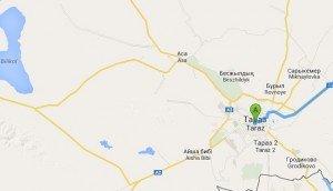 A2 à Taraz vers Bichkek