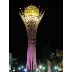 Astana 02 La tour d'observation de Bayterek, symbole d'Astana.