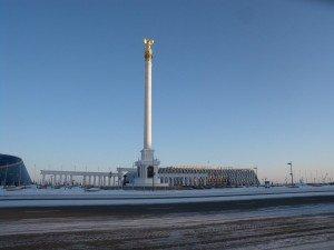 Astana colonne de Samruk 01