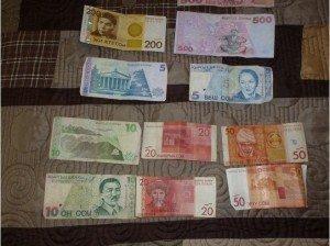 Billet kirghize Som ou tiyin 05
