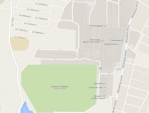 Bishkek carte Dordoy market 01