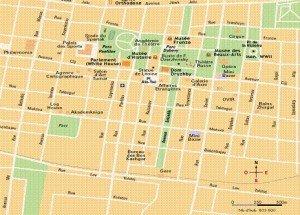 Bishkek carte du centre 03