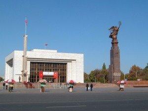 Bishkek le Muséum de l'histoire Kirghize 01