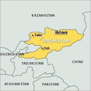 carte de Bishkek 01