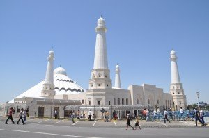Mosquée de Sheikh Khalifa bin Zayed Al Nahyan - Shymkent 02  mars 2013