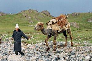 Nomade sur la route de Khasgar