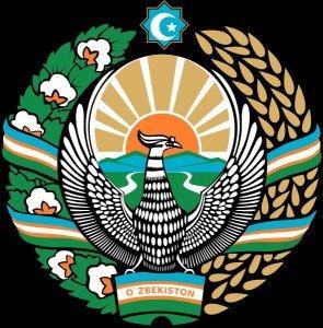 Symbole national Ouzbékistan Khumo oiseau mythique
