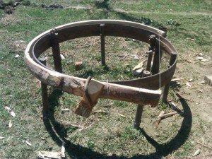 tunduk 17 courbure du cercle