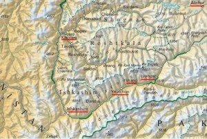 Carte avec Yamchun