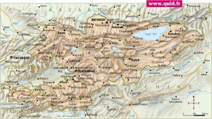 carte du Kyrghyzstan 099