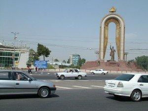Monument d'Ismail SAMANI à Douchanbé 02