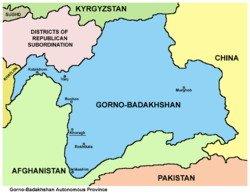 Province autonome de Gorno-Badakhshan